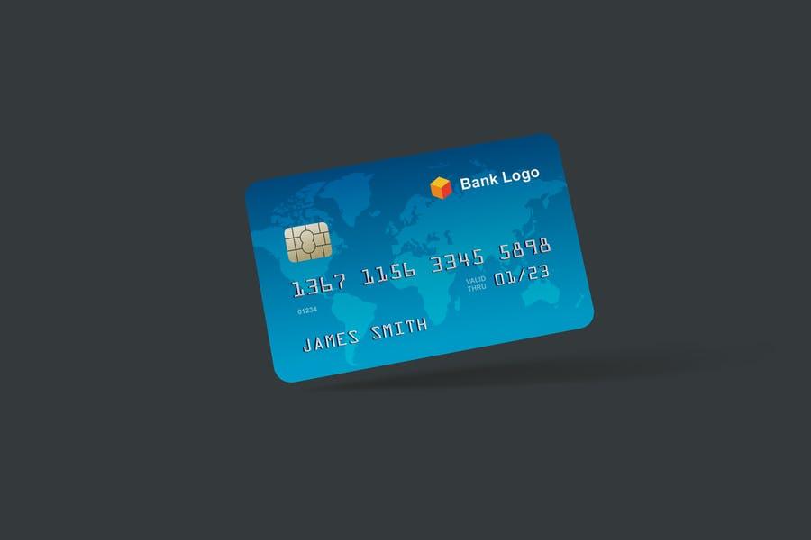 5 Professional Credit Card Mockups