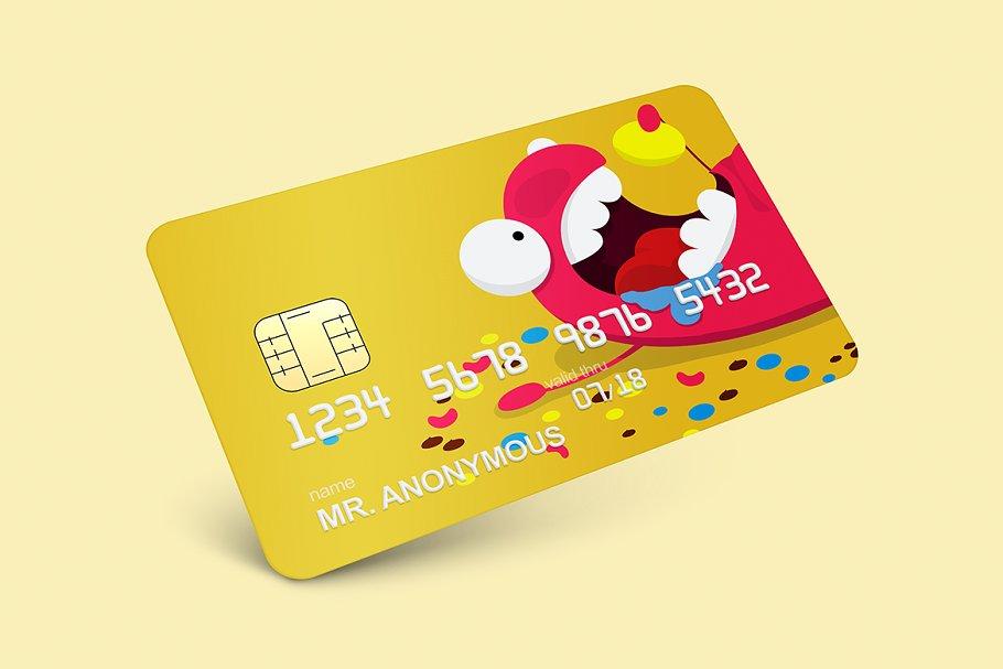 Credit and Debit Card Mockup PSD
