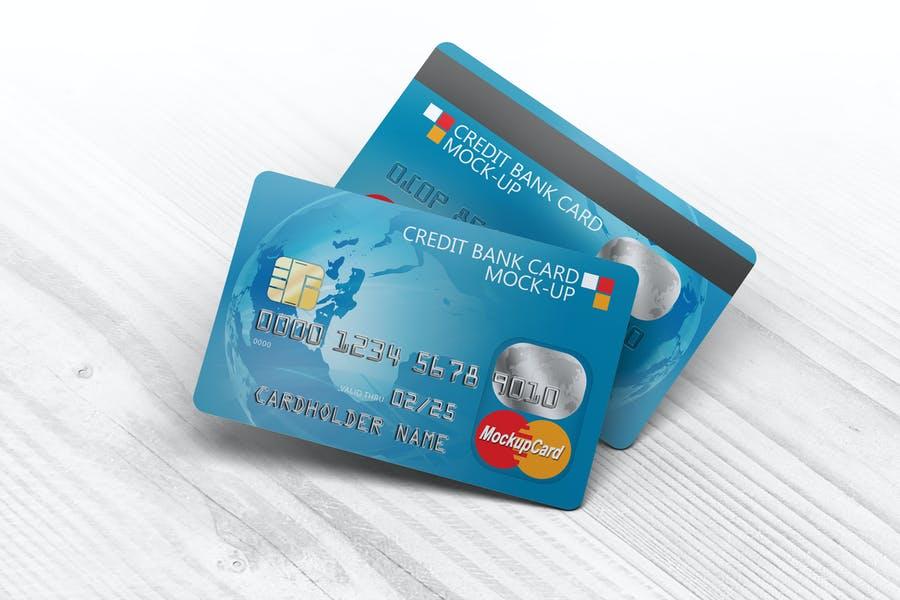 Fully Editable Credit Card Mockups