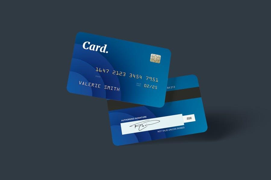 In Air Credit Card Mockups