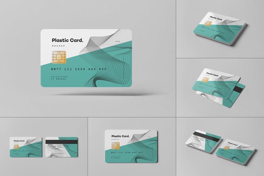 Photo Realistic Credit Card Mockups