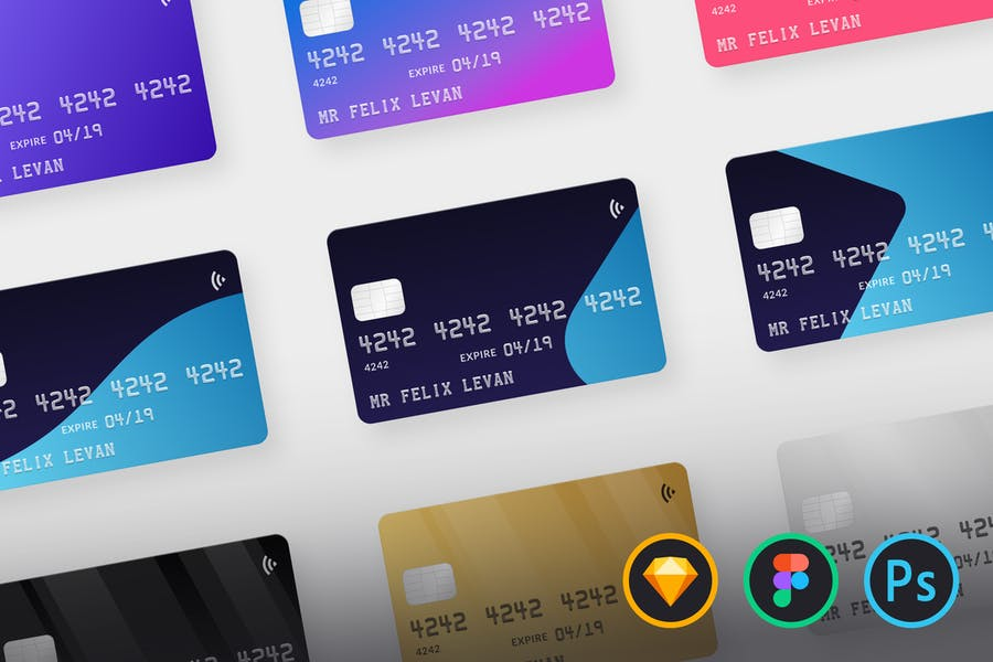Editable Credit Card Mockup