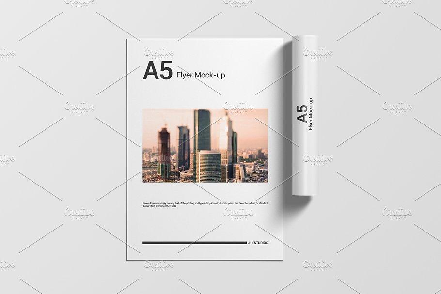 A5 Flyer Mockup Presentation