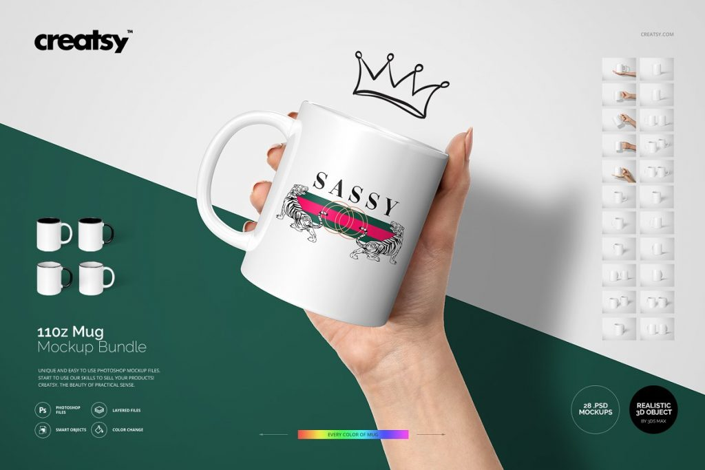Best 11 Oz Mug Mockup Bundle