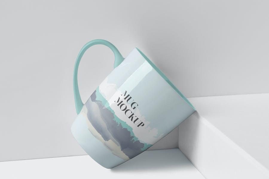 Ceramic Mug Mockup PSD