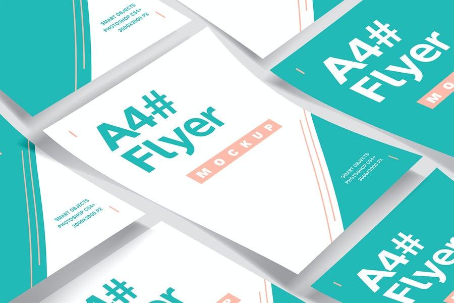 Easy Editable Flyer Mockup PSD