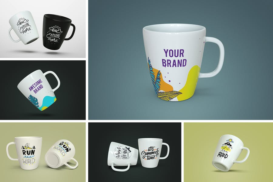 High Quality Mug Mockup PSD