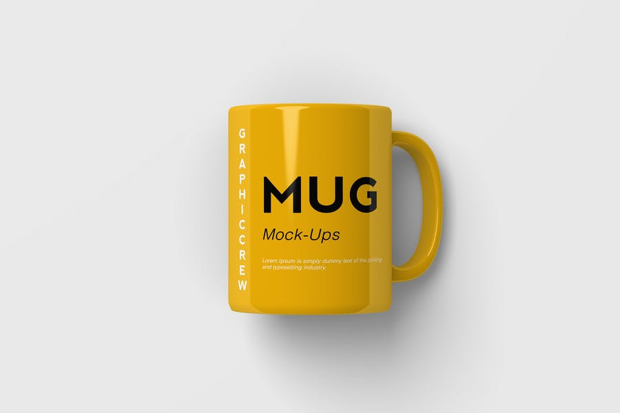 Realistic Coffee Mug Branding Mockup