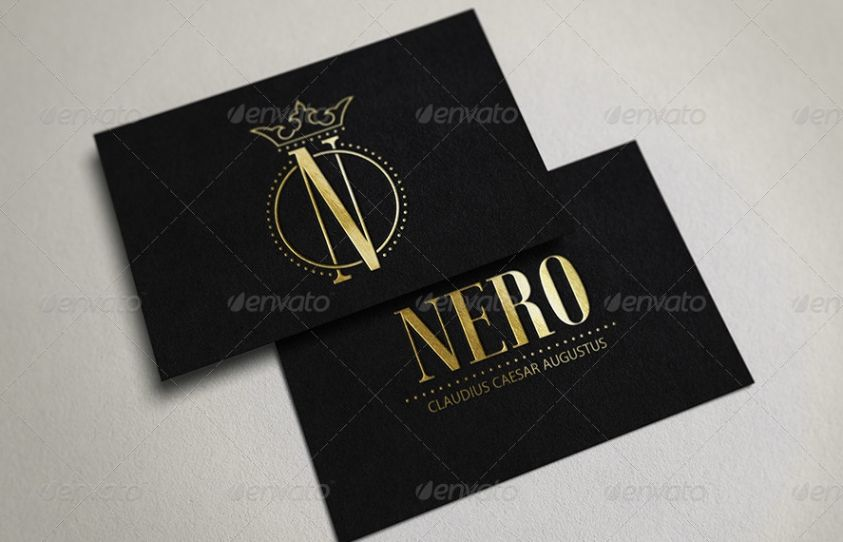 10 Isolated Business Card Mockup
