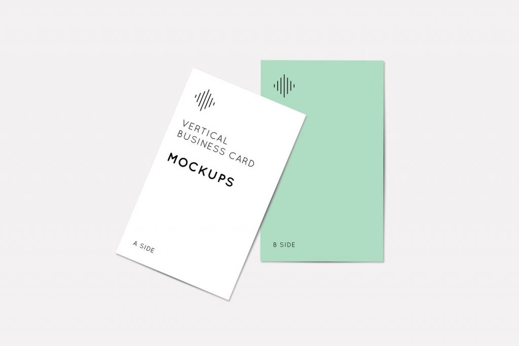 Clean and Simple Business Card Mockup