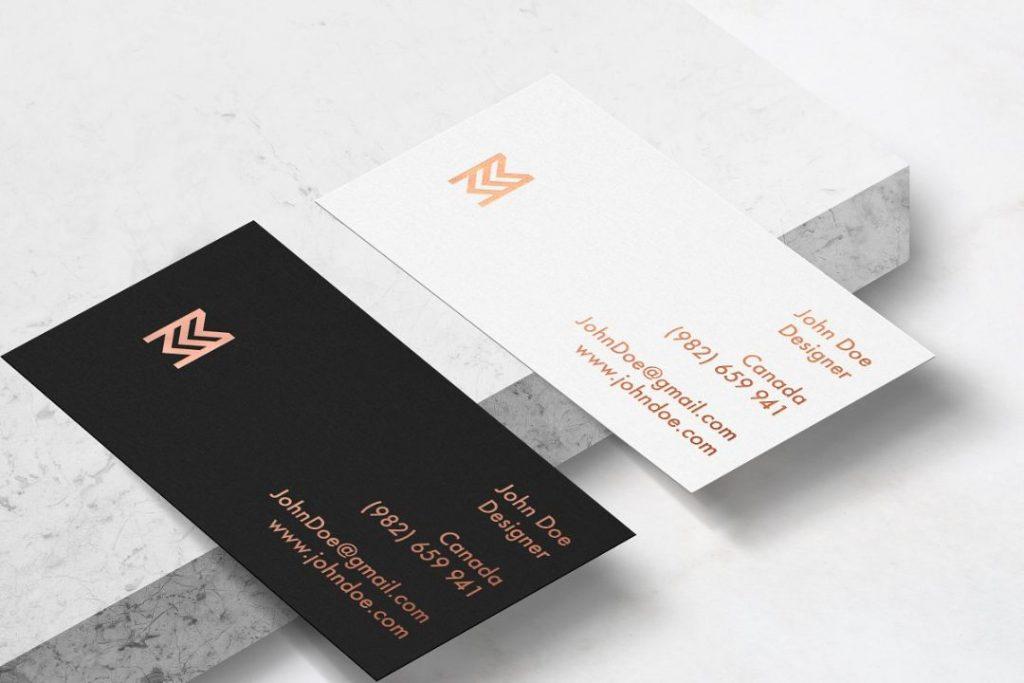 Creative Business Card Mockup Kit