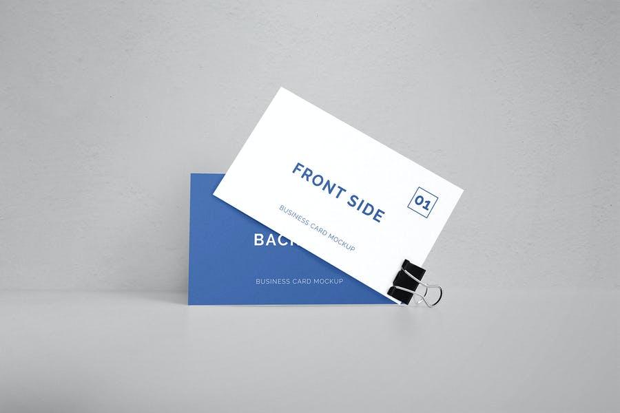 Minimal Business Card Mockup