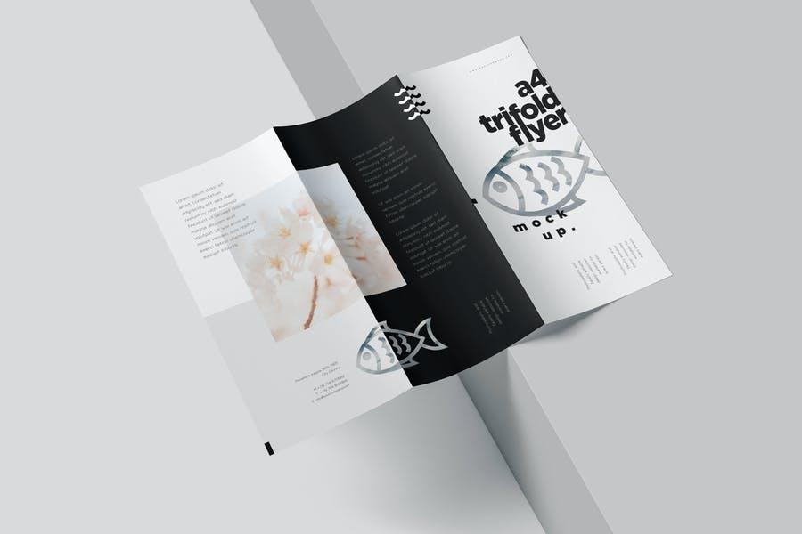Customizable Brochure Mockup PSD
