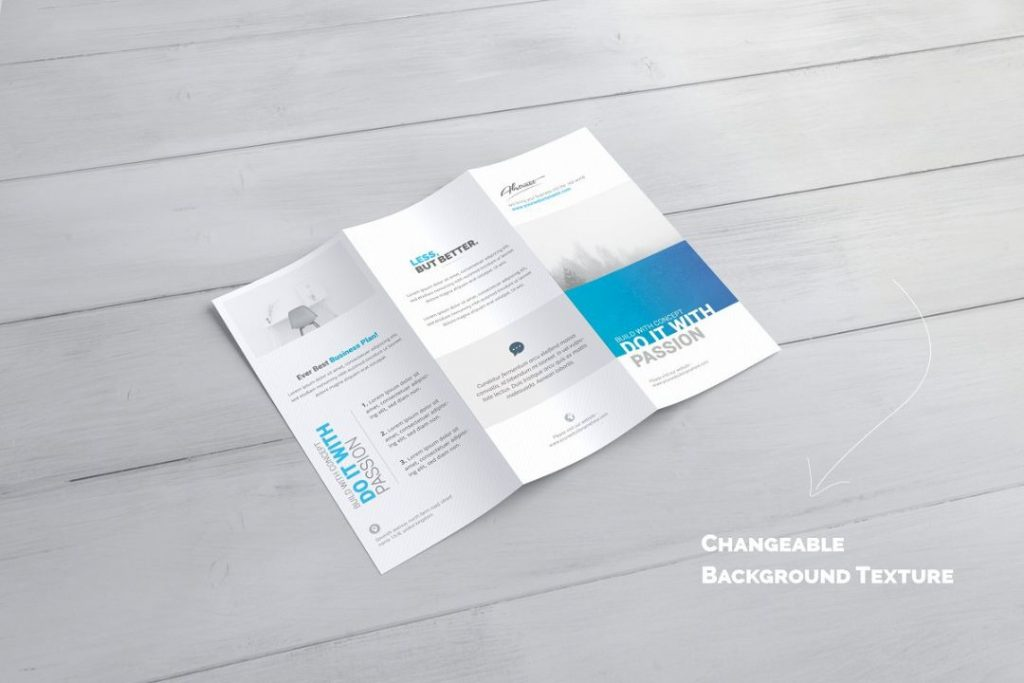 Editable Brochure Mockup PSD