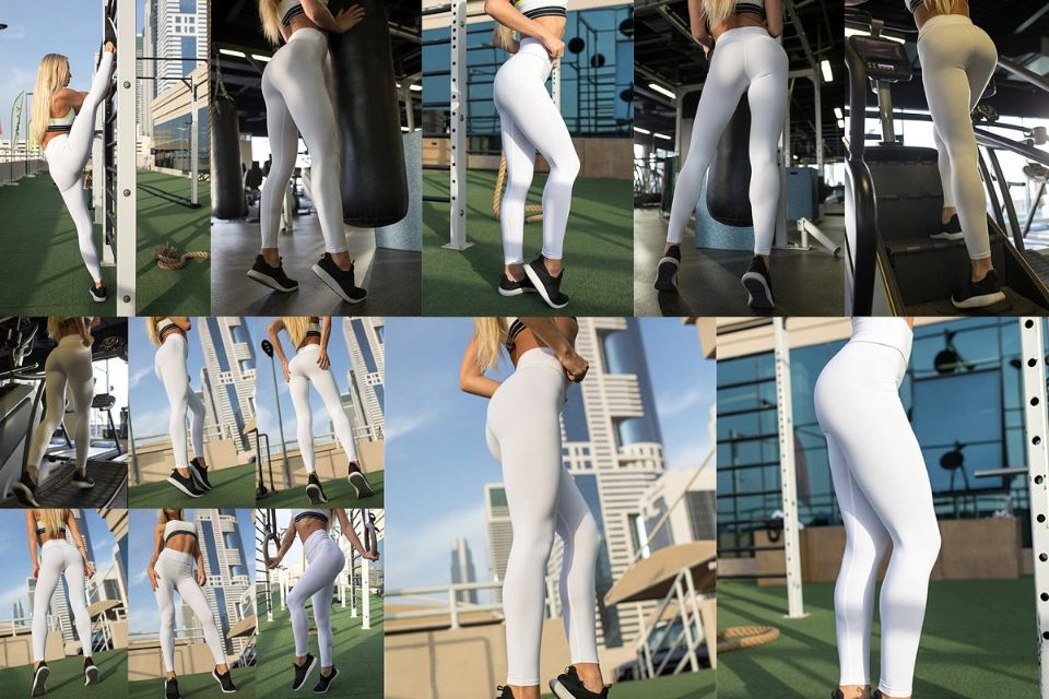 Fashion Leggings Mockup PSD