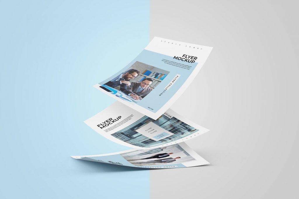 Flyer Design Presentation Mockup