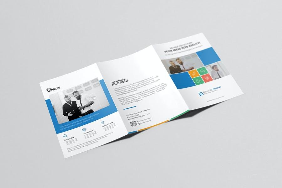 Multipurpose Brochure Mockup PSD
