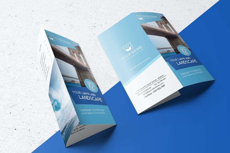 Organized Brochure Mockup PSD