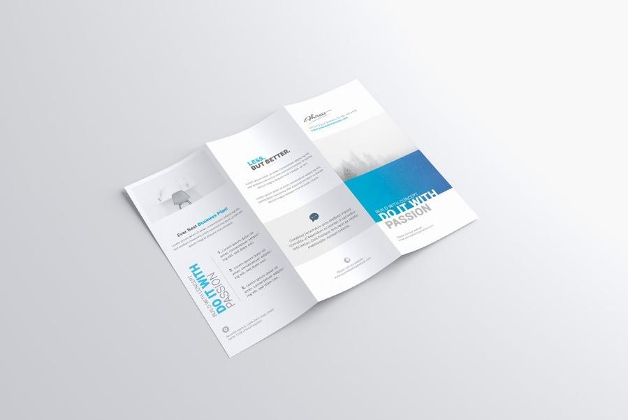 Photo Realistic Brochure Mockup PSD