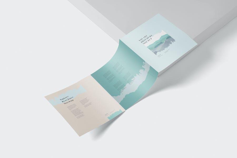 Ultra Realistic Tri Fold Brochure Mockup
