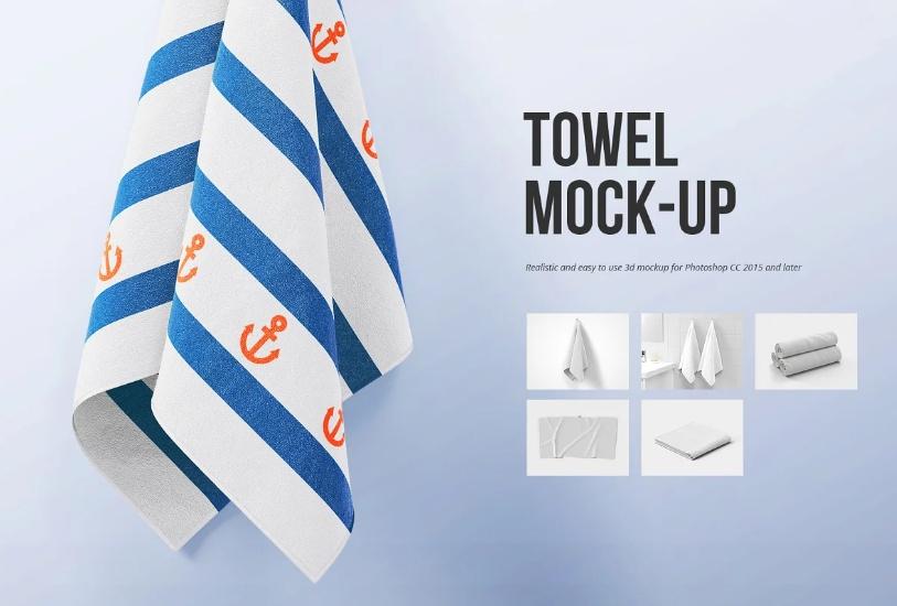 Best Towel Branding Mockup