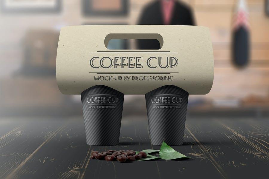 Coffee Pakaging Mockup PSD