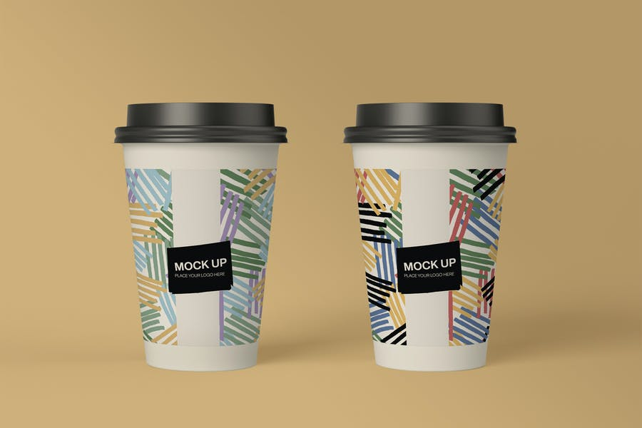 Commercial Paqper Cup Mockup