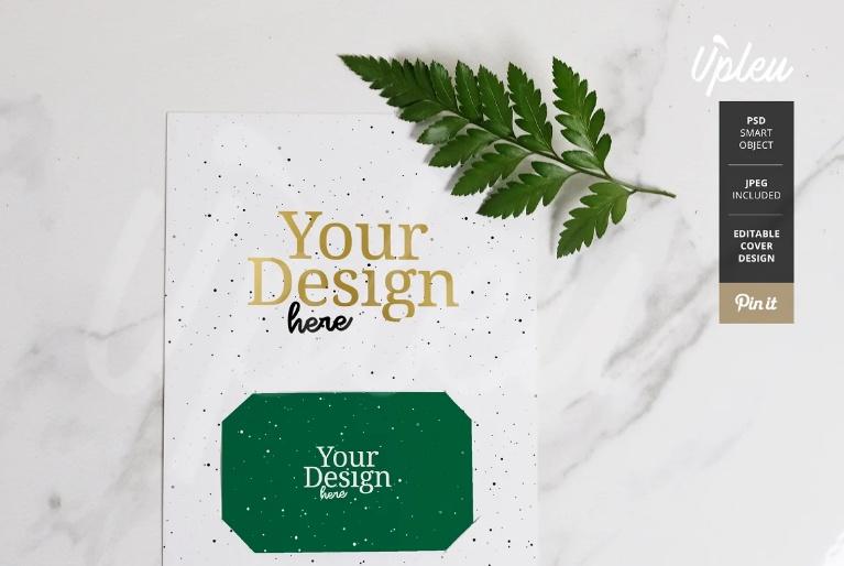 Creative Gift Card Holder Mockup