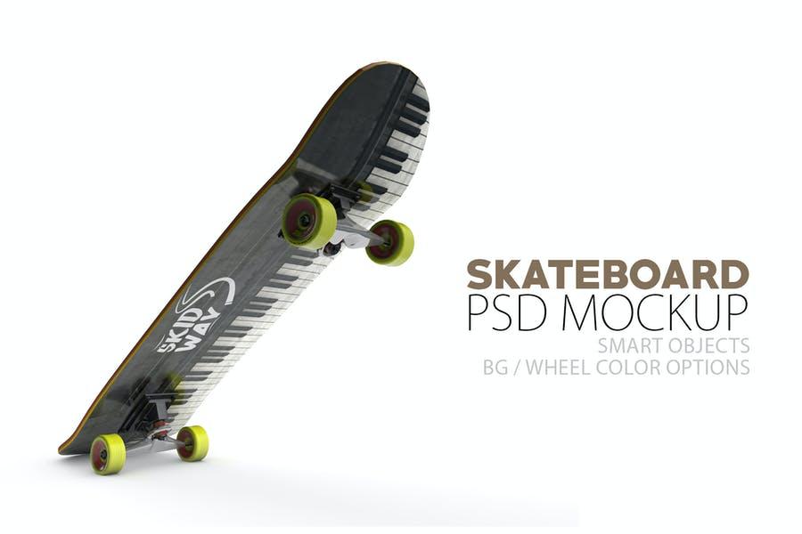 Creative Skateboard Mpckups