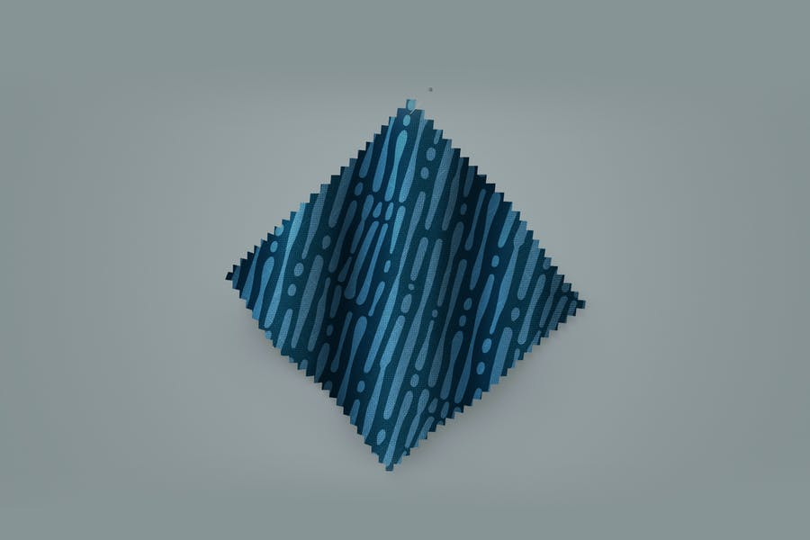 Fabric Swatch Pattern Mockup