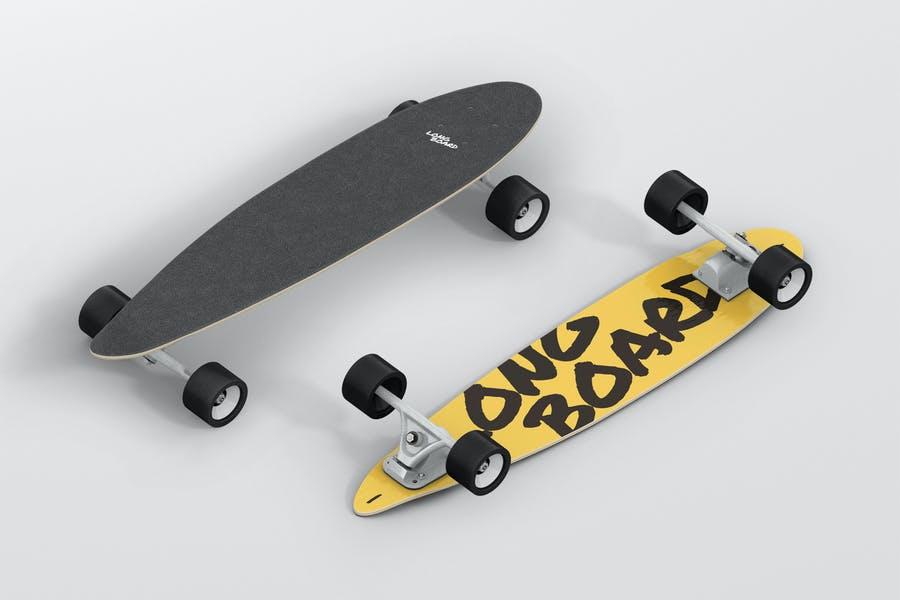 Longboard Mockup PSD Set
