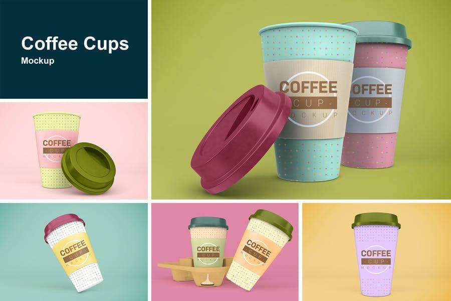 Photo Realistic Coffee Cup Mockup