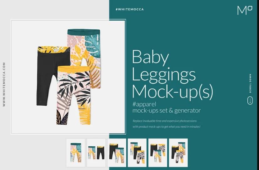 Professional Baby Mockups Set
