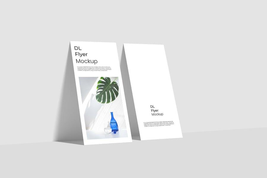 Professional DL Flyer Mockups