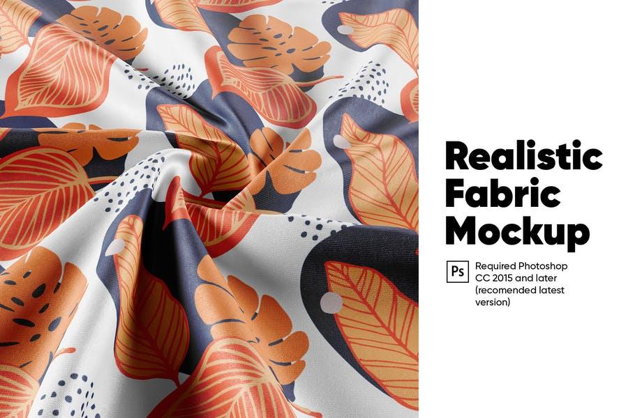 Realistic Fabric Mockups PSD