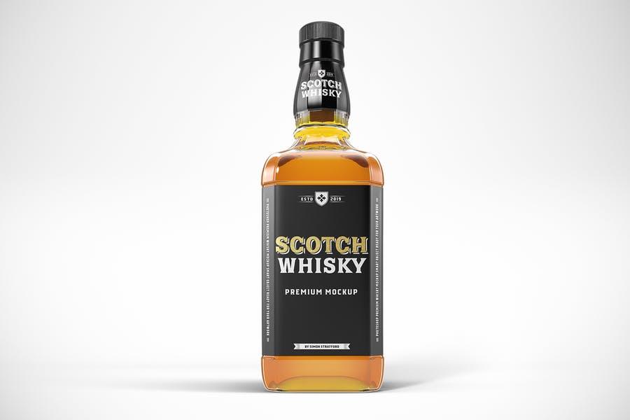 Scotch Branding Mockup PSD