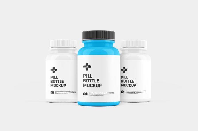 Layered Supplements Branding Mockups