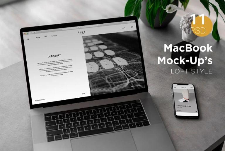 11 MacBook Pro Mockups