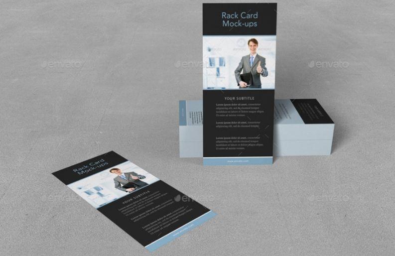 Corporate Rack card Mockups