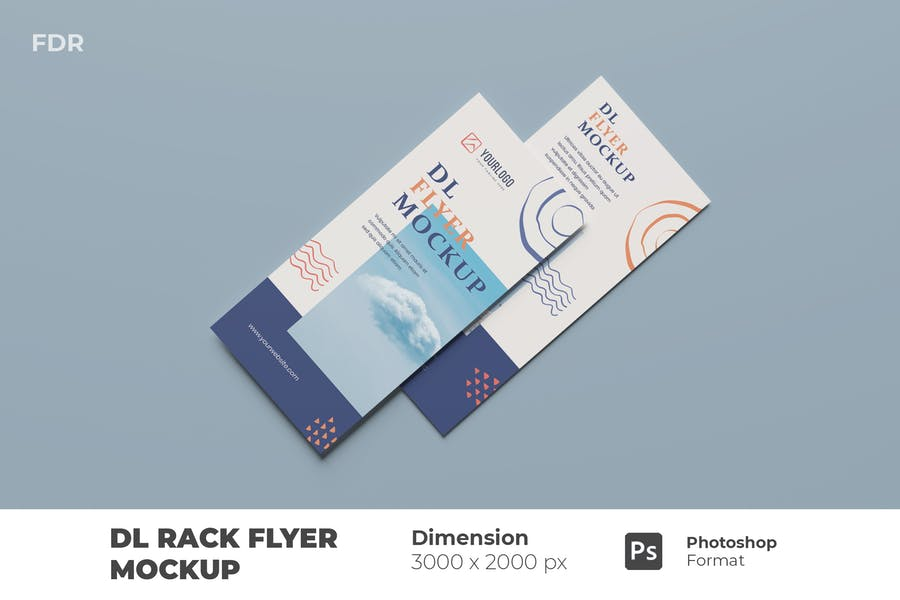 DL Rack Card Mockups