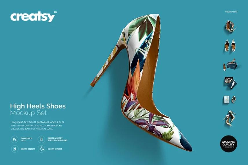 High Heels Shoe Mockups