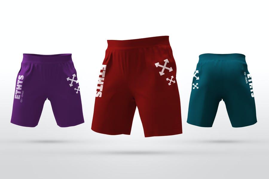 High Resolution Shorts Design Mockup