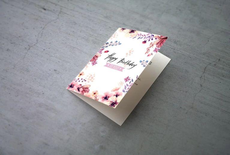 Invitation and Greeting Cards Mockup