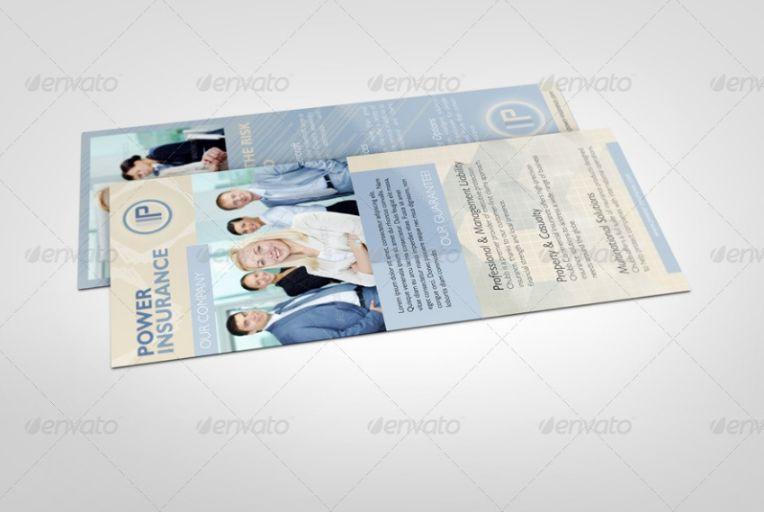 Marketing Rack Card Mockups
