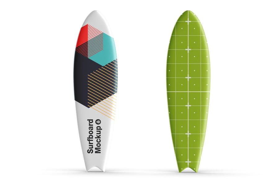 Simple Surfboard PSD Mockups