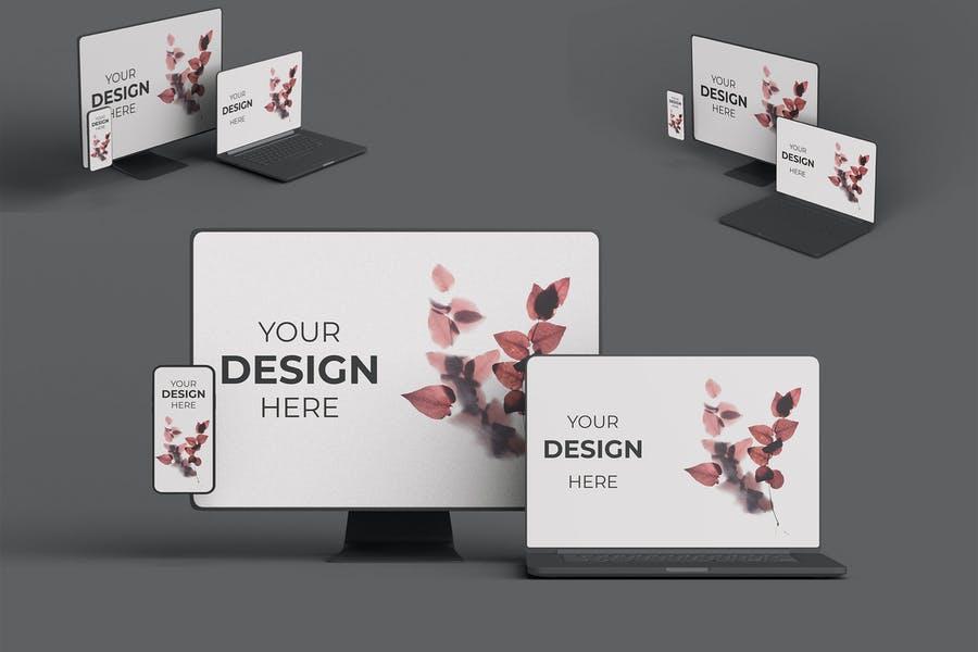 UI UX Design Mockups