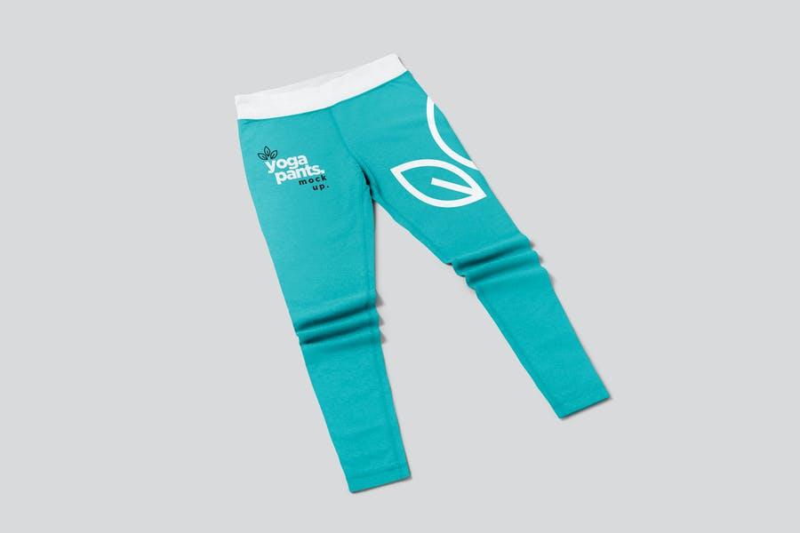 Yoga Pants Mockup PSD