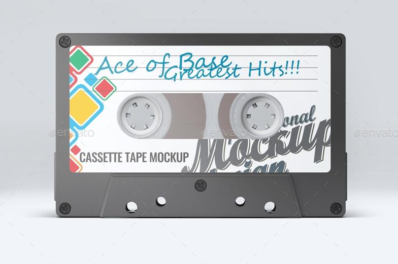 3D Cassette Case Mockups