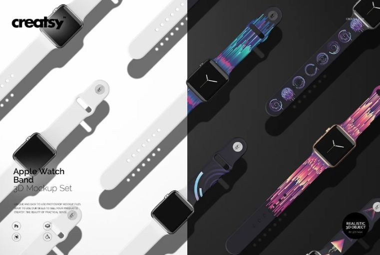 Apple Watch Band Mockup