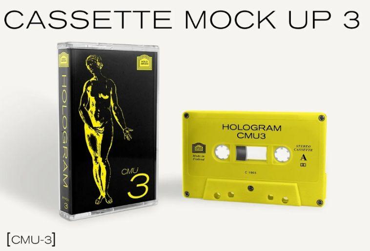 Audio Cassette Mockup Pack